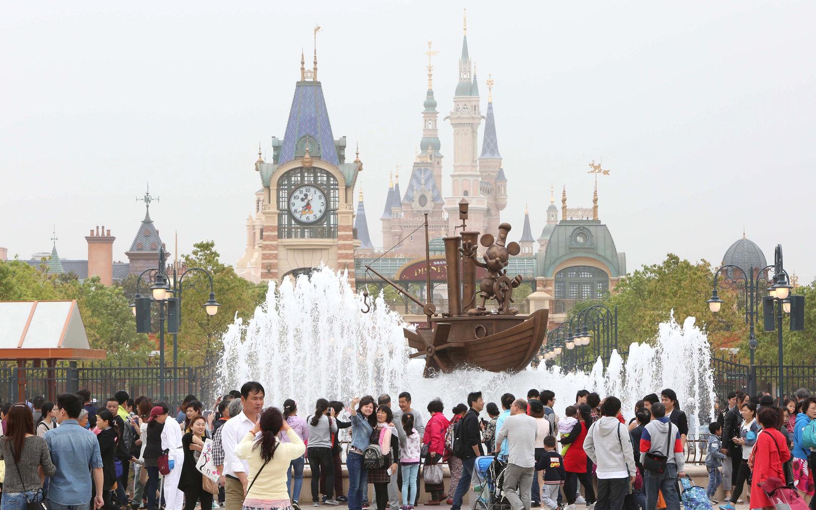 Focus Chine_Disneyland