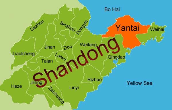 shandongMap